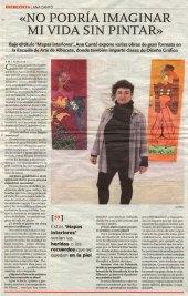 2014-03-01 - La Tribuna - Entrevista Ana Cantó