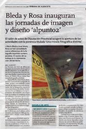 2014-03-26 - La Tribuna - Inauguración Alpunto2