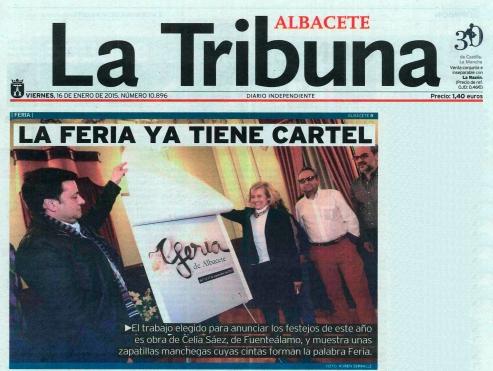 2015-01-16 - La Tribuna - La Feria ya tiene cartel - 1